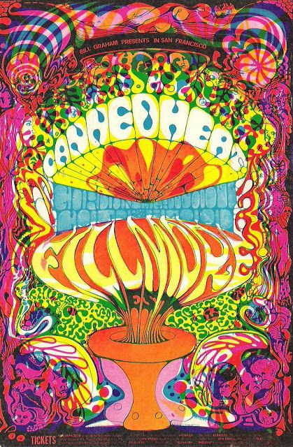 Art Artists Psychedelic Graphics Of The 1960s Part 2