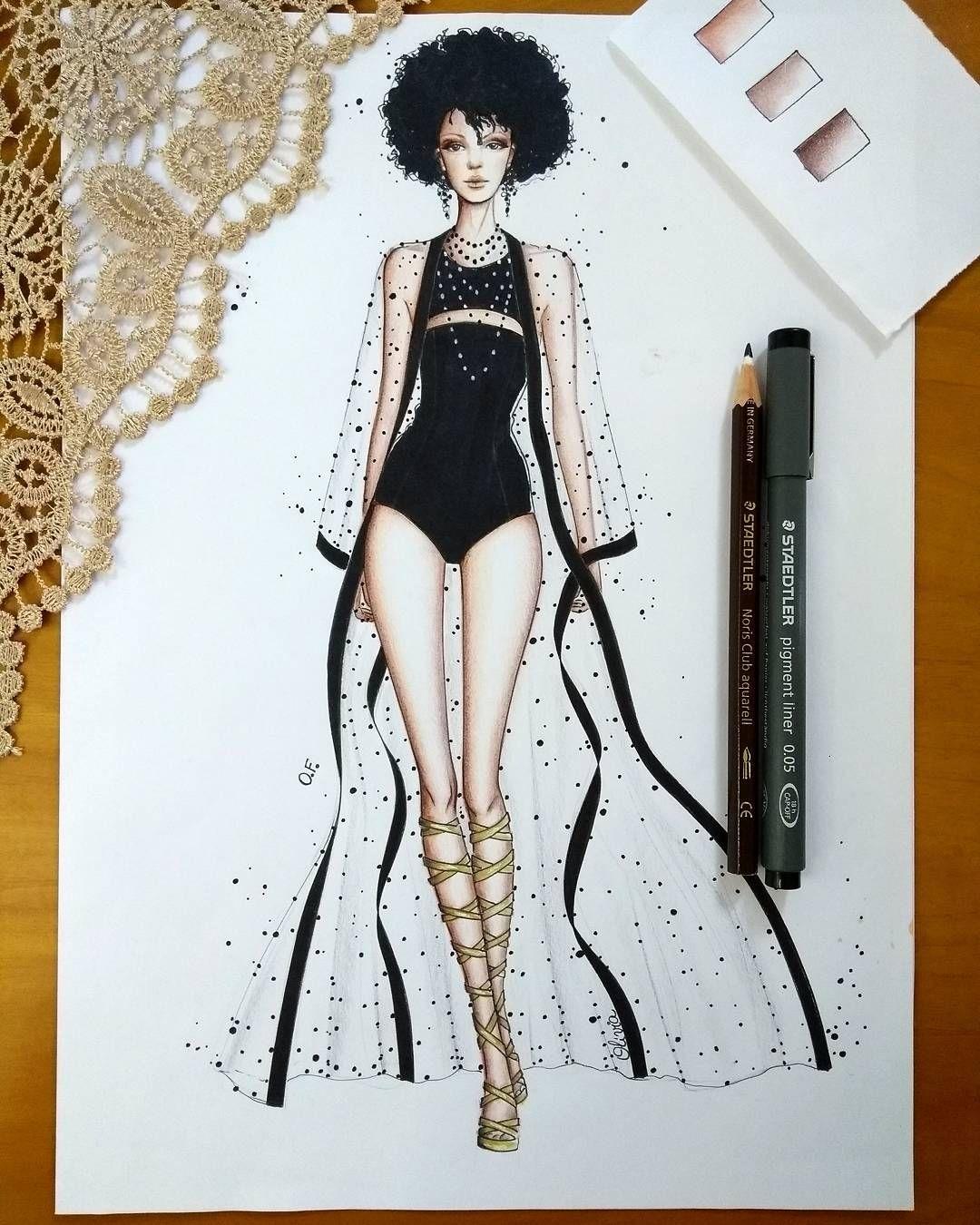 Instagram   Inspiring Illustrations   Pinterest   Bocetos, Figurin y ...