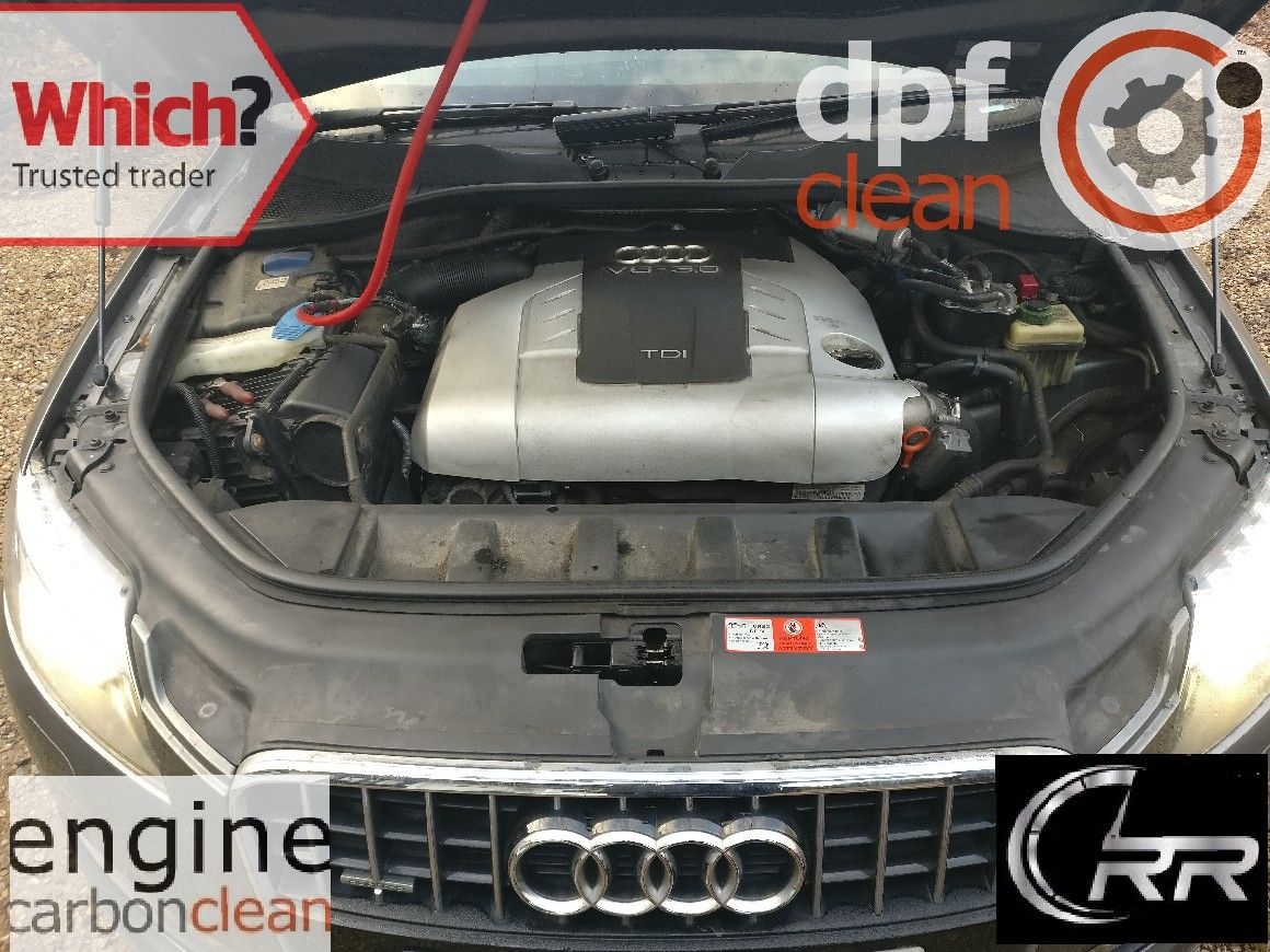 An Audi Q7 3 0 TDi that was having DPF related issues, the