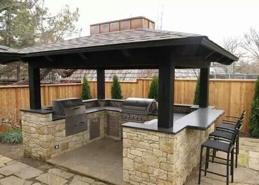 Outdoor Kitchen Design Bbq Grilling Building An