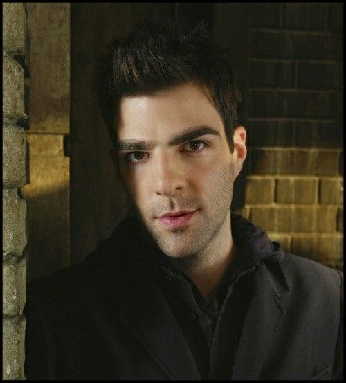 Zachary Quinto as Sylar in Heroes. OMG. I nearly swallowed