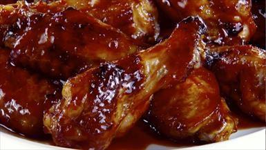 Giada De Laurentiis - Sticky Korean-style Baked Chicken Wings