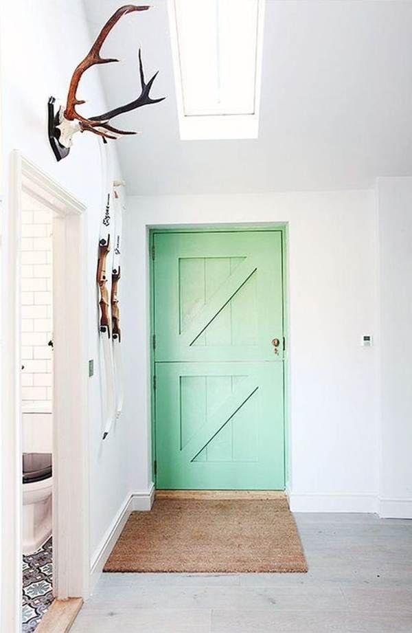 Puertas interiores de colores verde color y puertas for Colores para puertas interiores