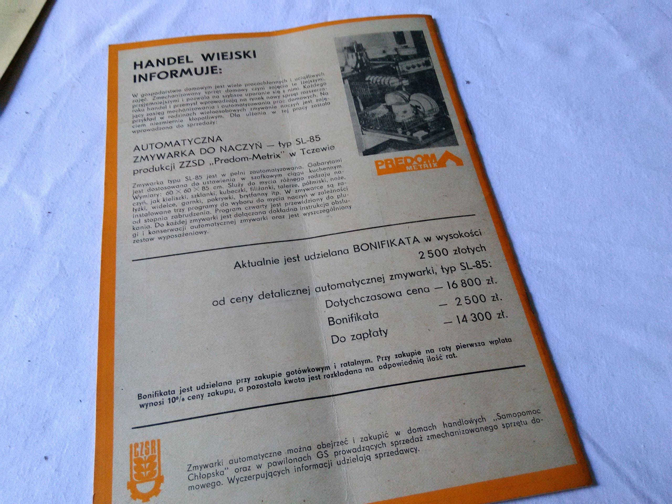 Gospodarstwo Domowe 3 1980 7543927915 Oficjalne Archiwum Allegro Personalized Items Person Receipt