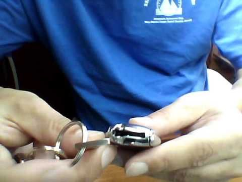 How to Change Battery in Mercedes Benz Key Fob Remote