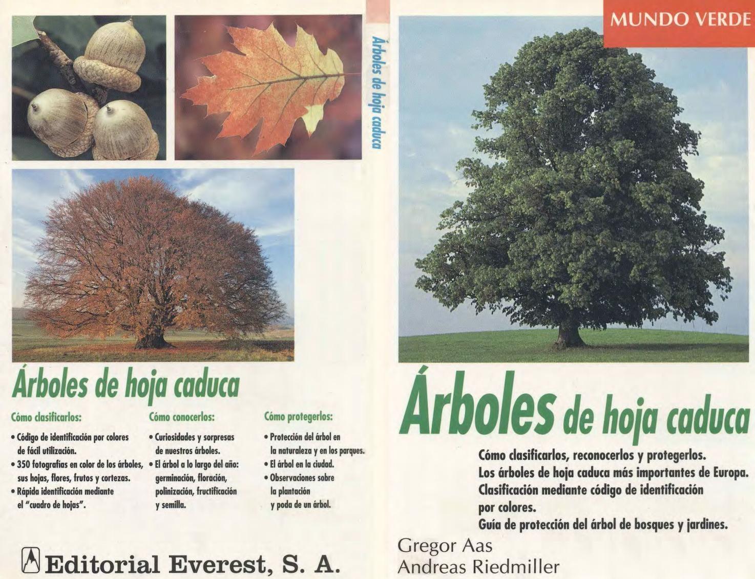 Everest arboles de hoja caduca libros de jardineria for Arboles de hoja perenne para ninos