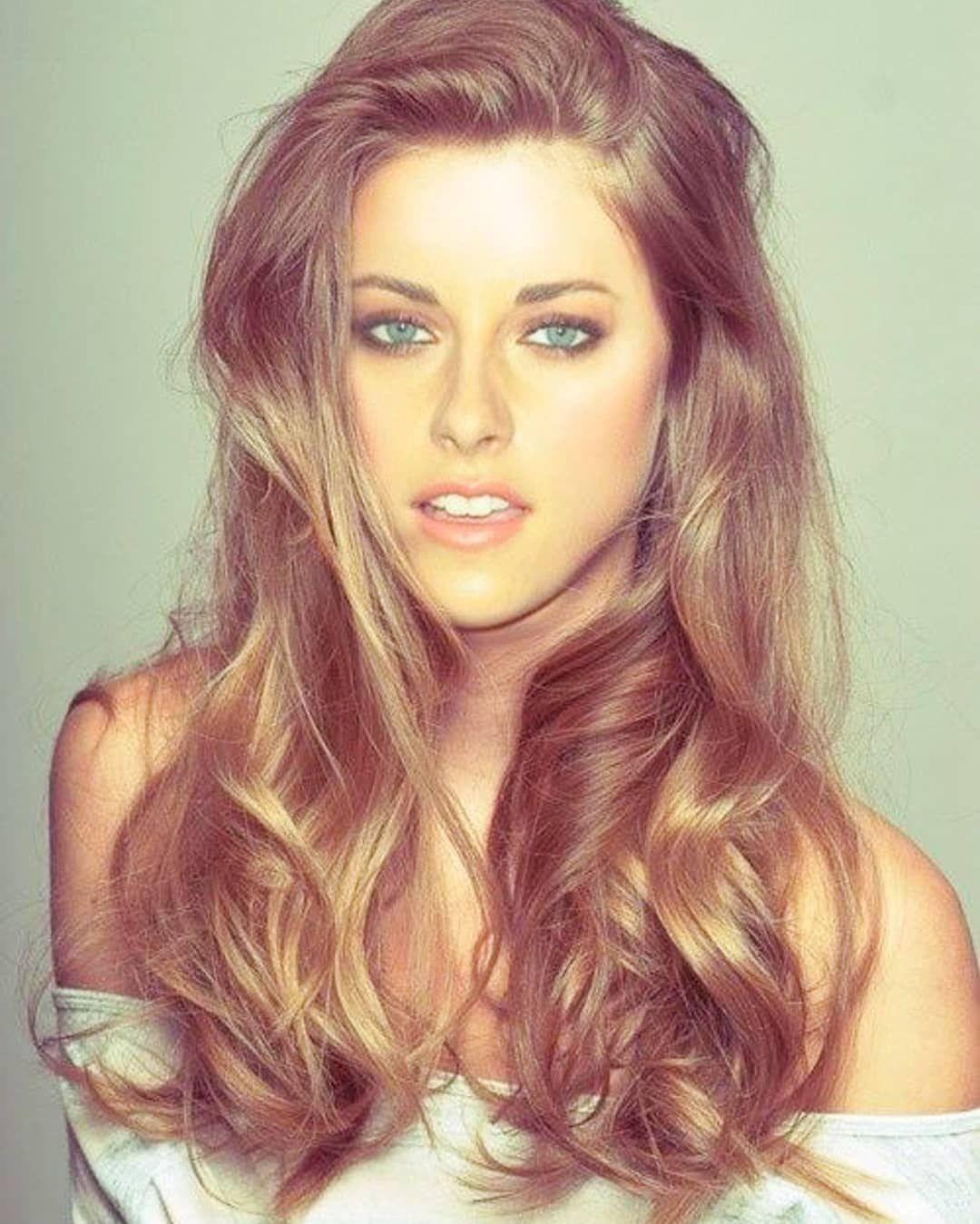 Kristen Stewart Hair Colour For Green Eyes Pale Skin Hair Color Hair Color For Fair Skin
