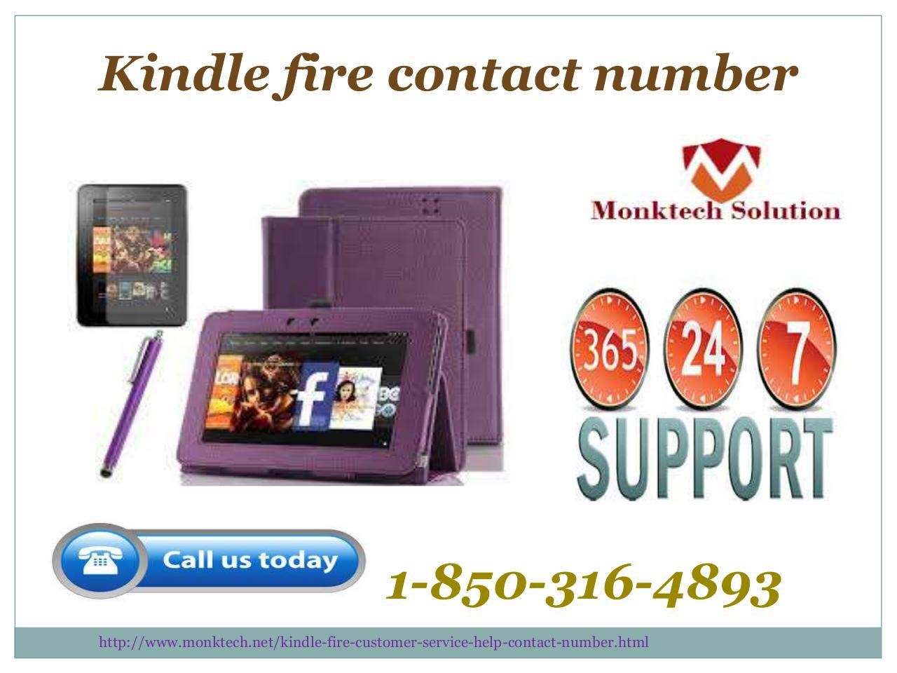 Can i call at amazon kindle fire contact number 1 850 316 4893