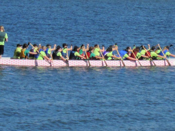 Dragon Boat Racing in Portland