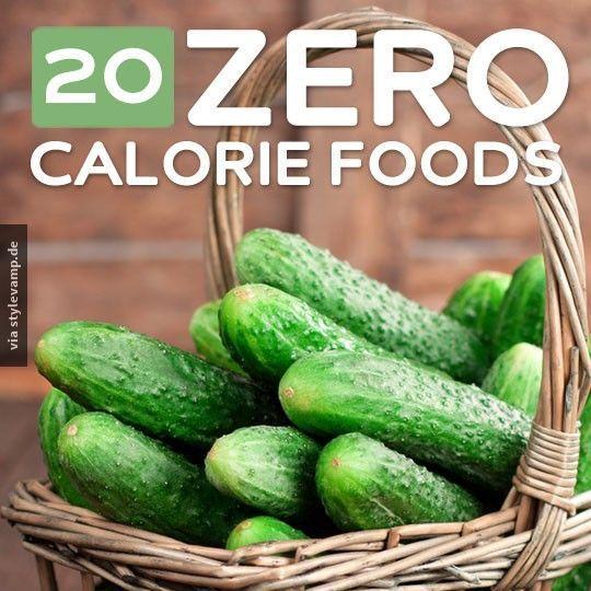 20 lebensmittel ohne kalorien healthcare pinterest. Black Bedroom Furniture Sets. Home Design Ideas