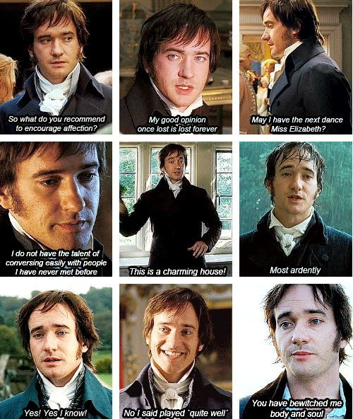 Mr Darcy Quotes
