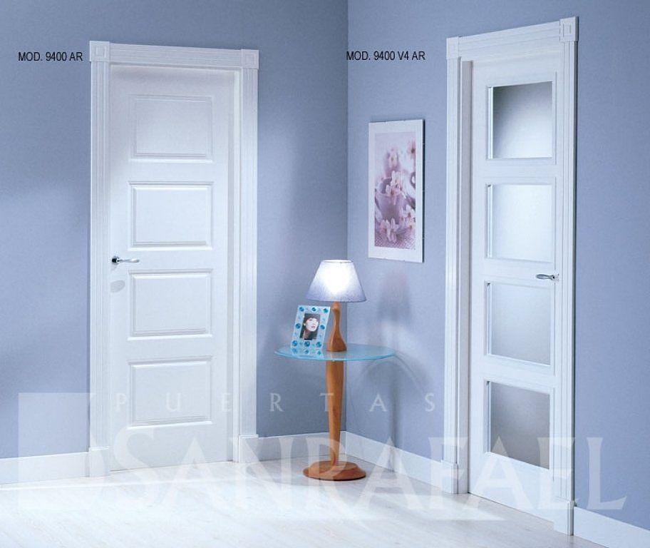 El post de las casas con puertas blancas for Puertas correderas blancas interior