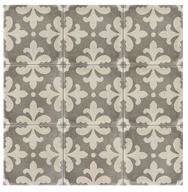 Palatial Florence Deco Vintage Grey 12x12 Portland Direct Tile Marble Tile Patterns Decorative Tile Encaustic Tile