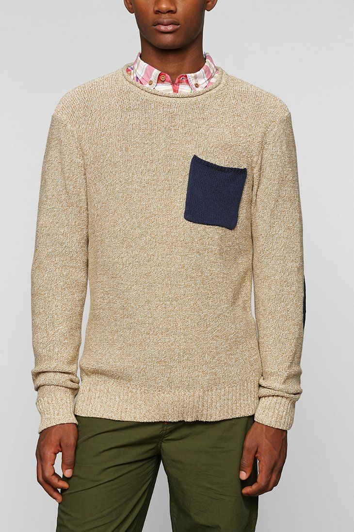 CPO Contrast Pocket Sweater