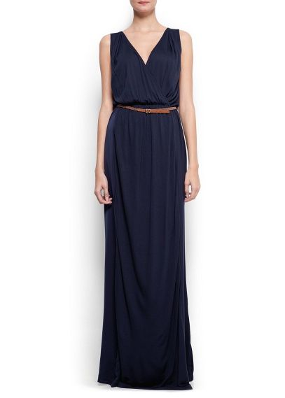 d90e2b565d8b Wrapped long dress - Women   Vestidos   Pinterest   Kleider, Lange ...