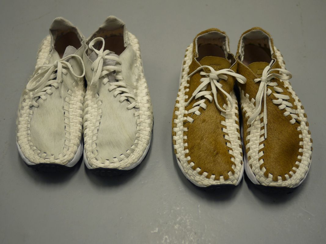 Nike Air Woven Footscape x Hideout. White Hamster, still in my closet.