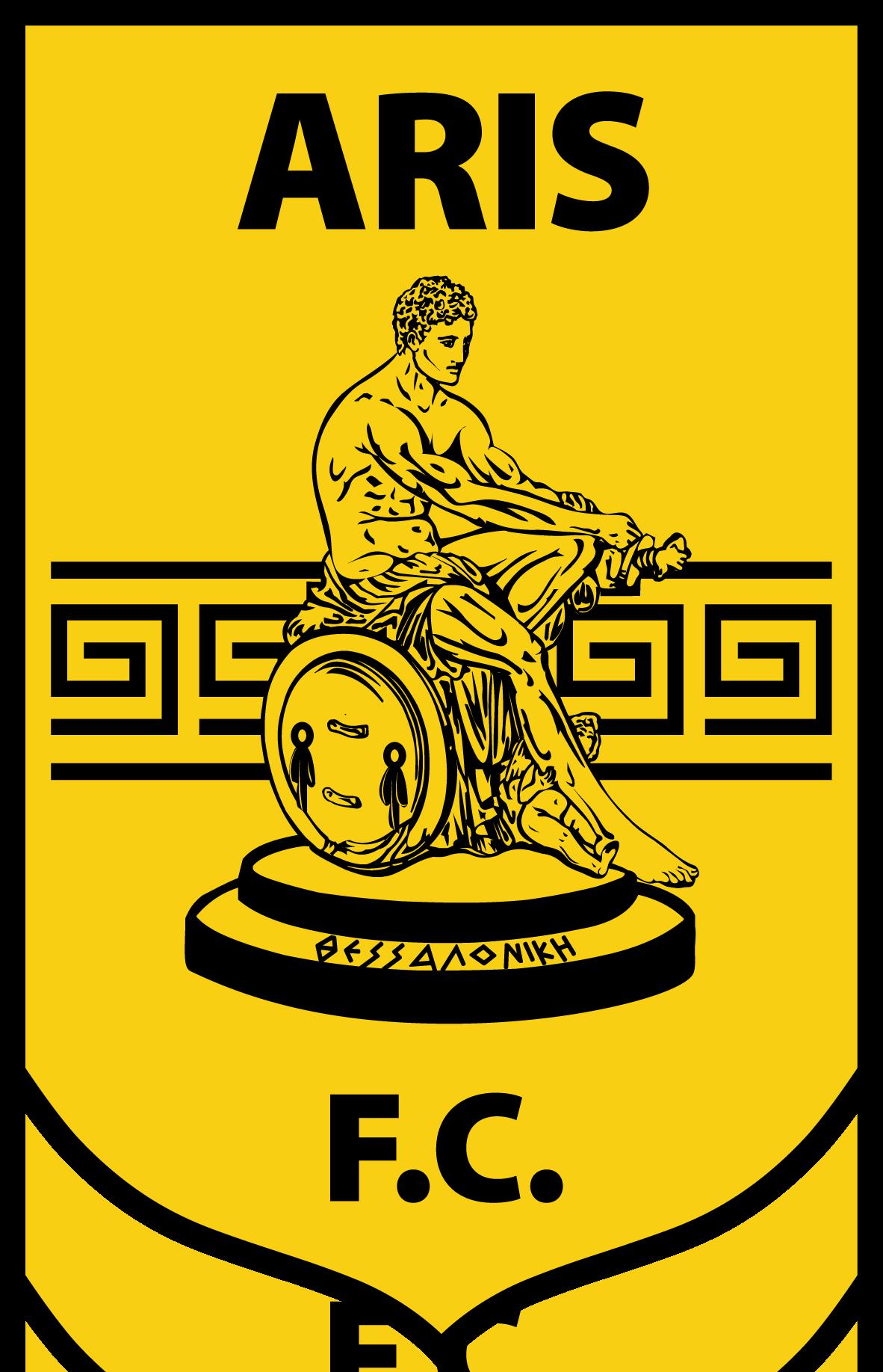aris fc greeece clubs pinterest logos and