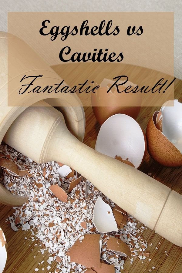 Eggshells vs. Cavities – Fantastic Result !