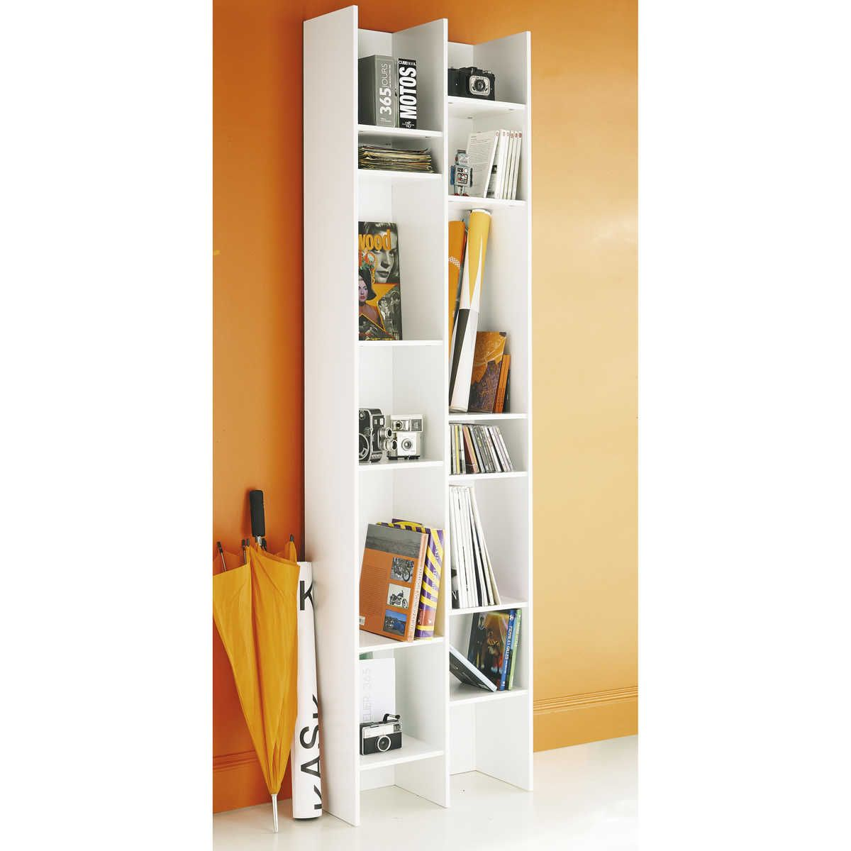colonne biblioth que blanche home inspiration pinterest biblioth que blanche biblioth que. Black Bedroom Furniture Sets. Home Design Ideas