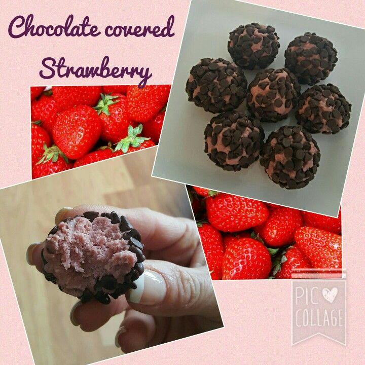 Chocolate covered strawberry shakeology Chocolate