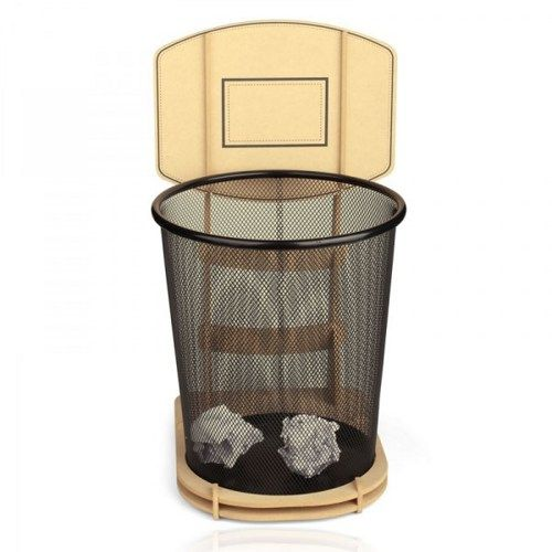 Cool Diy Basketball Stand Rubbish Bin Basketball