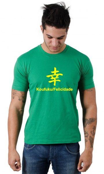 b5da50a7d Camiseta Felicidade - Reis Online Camisetas Personalizadas ...