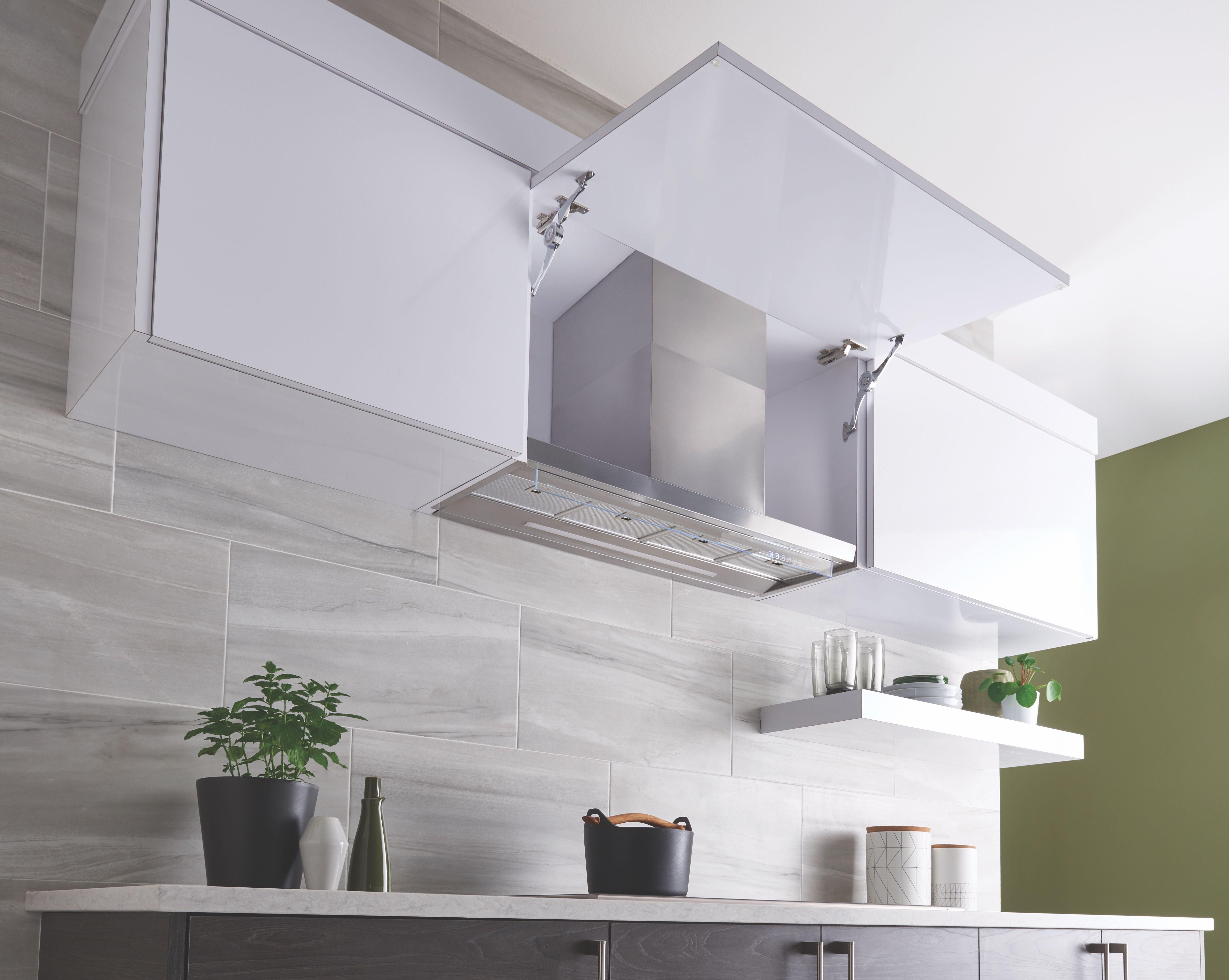 Hidden Cooktop Vent | Modern kitchen range hoods, Kitchen ...