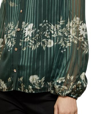 Photo of Ted Baker Eveliin Printed Blouse Women – Bloomingdale's