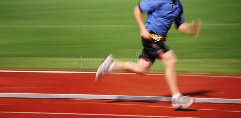 Motion blur running