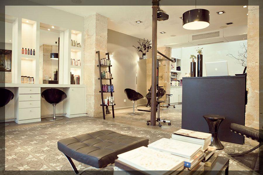 Zazen paris salon de coiffure petit projet pinterest for Salon de coiffure miroir