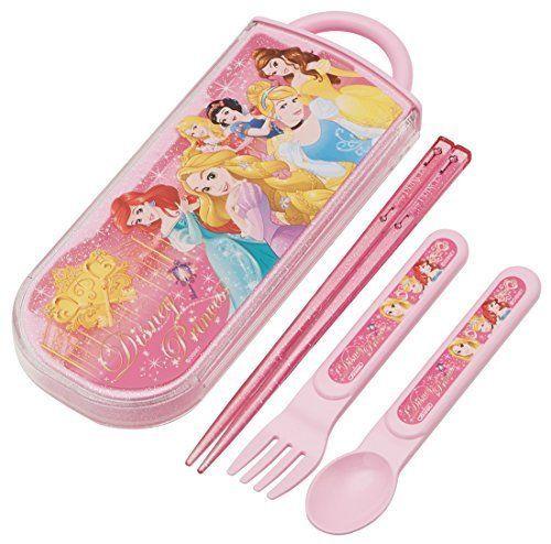 NEW Chopsticks Spoon Fork Disney Princess Alice Ariel Outdoor Lunch Gift TACC1A | eBay