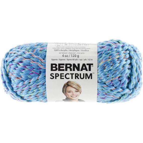 Bernat Spectrum Yarn in Denim Daze Super Bulky 6 Roving Yarn | My ...