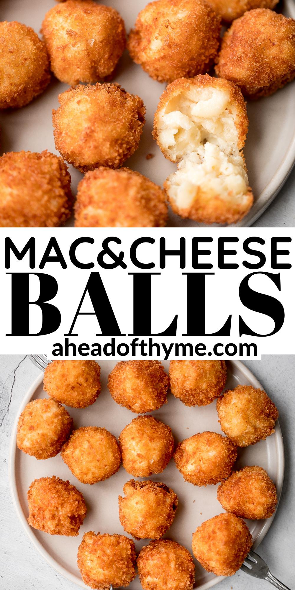 Fried Mac And Cheese Balls Recipe Mac And Cheese Bites Fried Mac And Cheese Mac And Cheese
