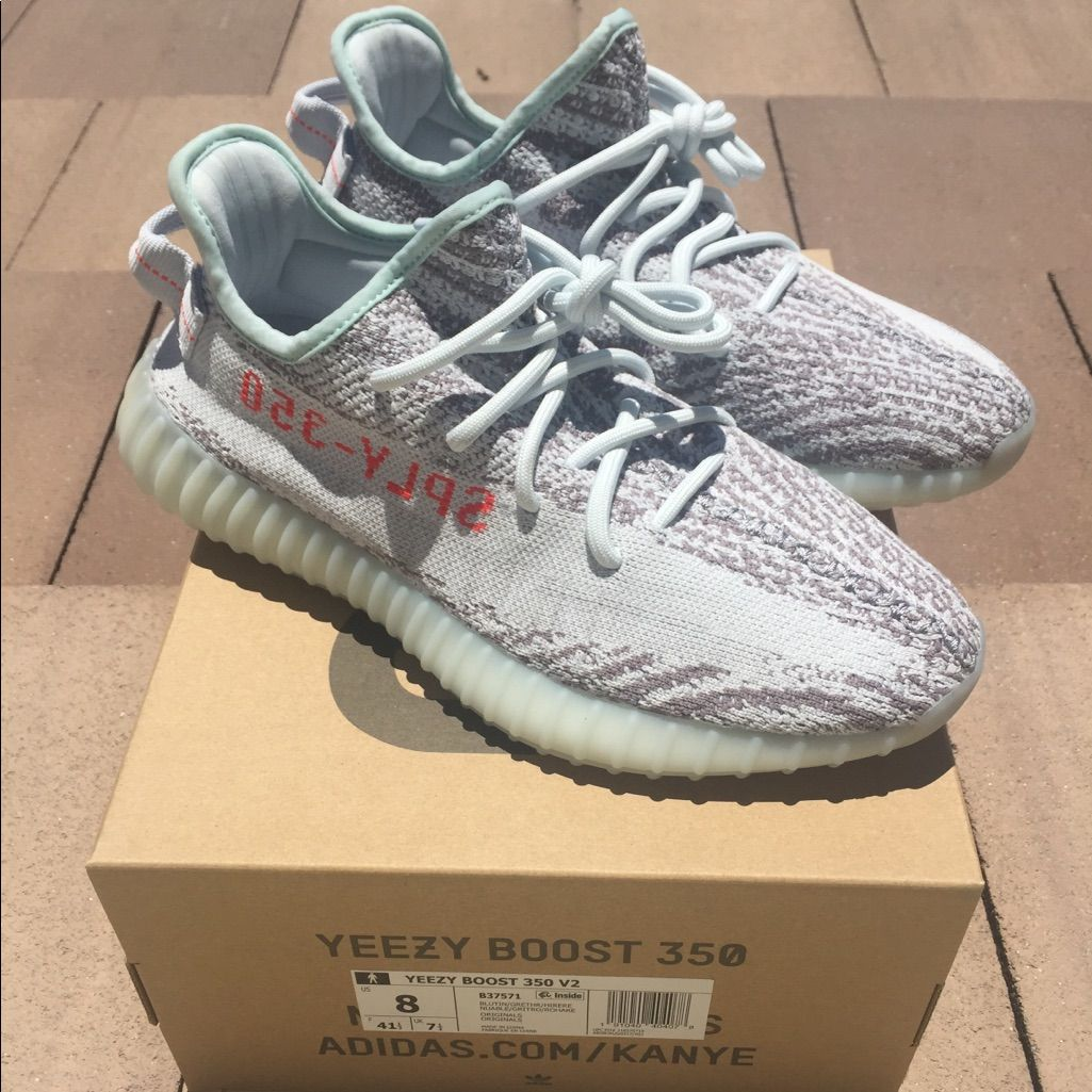 adidas Yeezy Boost 350 V2 Static Mens Running Shoe, Size 8