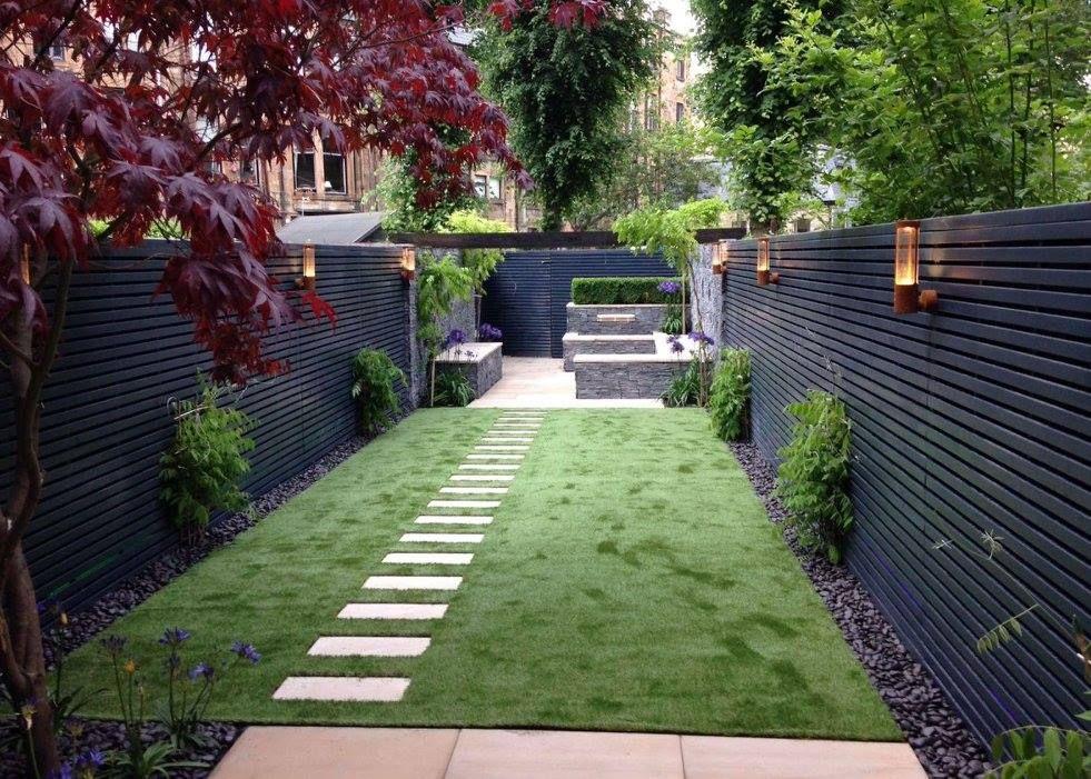 Contemporary Garden Design For West End Garden In Glasgow Jpg 981 701 Cheap Landscaping Ideas Modern Garden Design Contemporary Garden Design