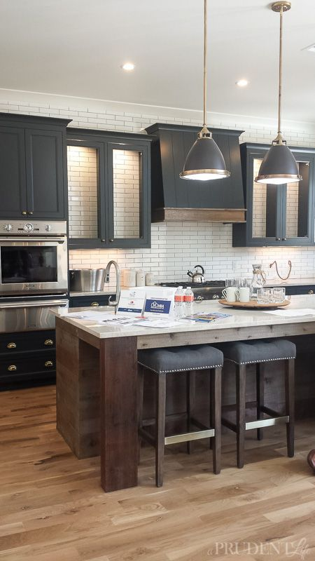 Final day of inspiration from the parade of homes grey for Kitchen ideas tulsa ok