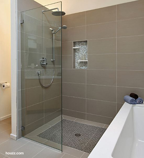 Zancor Not Staggered Shower Tile Big Blocks BATHROOM - Slip resistant bathroom floor tiles for bathroom decor ideas