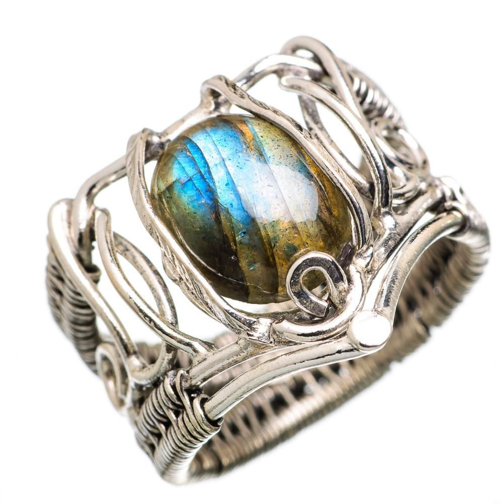 Ana Silver Co Labradorite 925 Sterling Silver Ring Size 7.75 RING838437