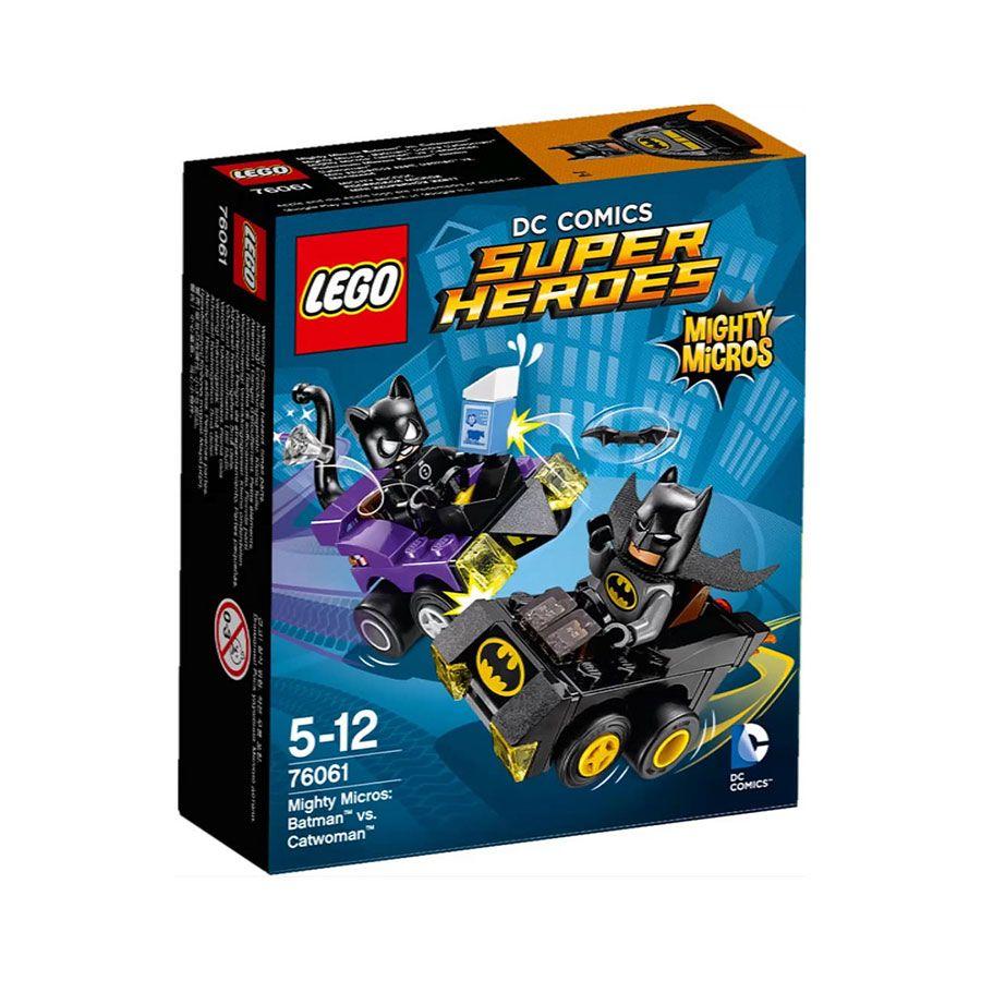Batman Minifigure and Batmobile LEGO Super Heroes DC Mighty Micros 76061