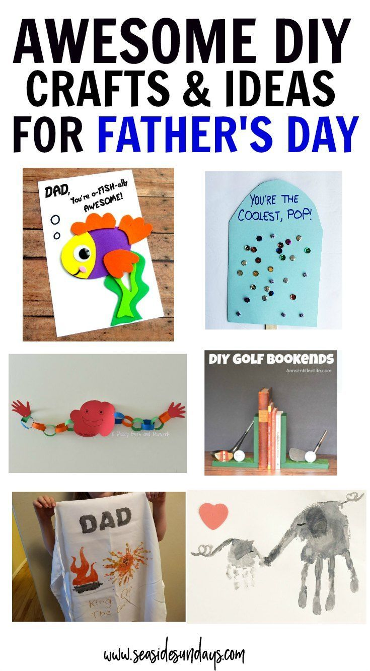 The best fatherus day ideas for kids crafts cards gifts
