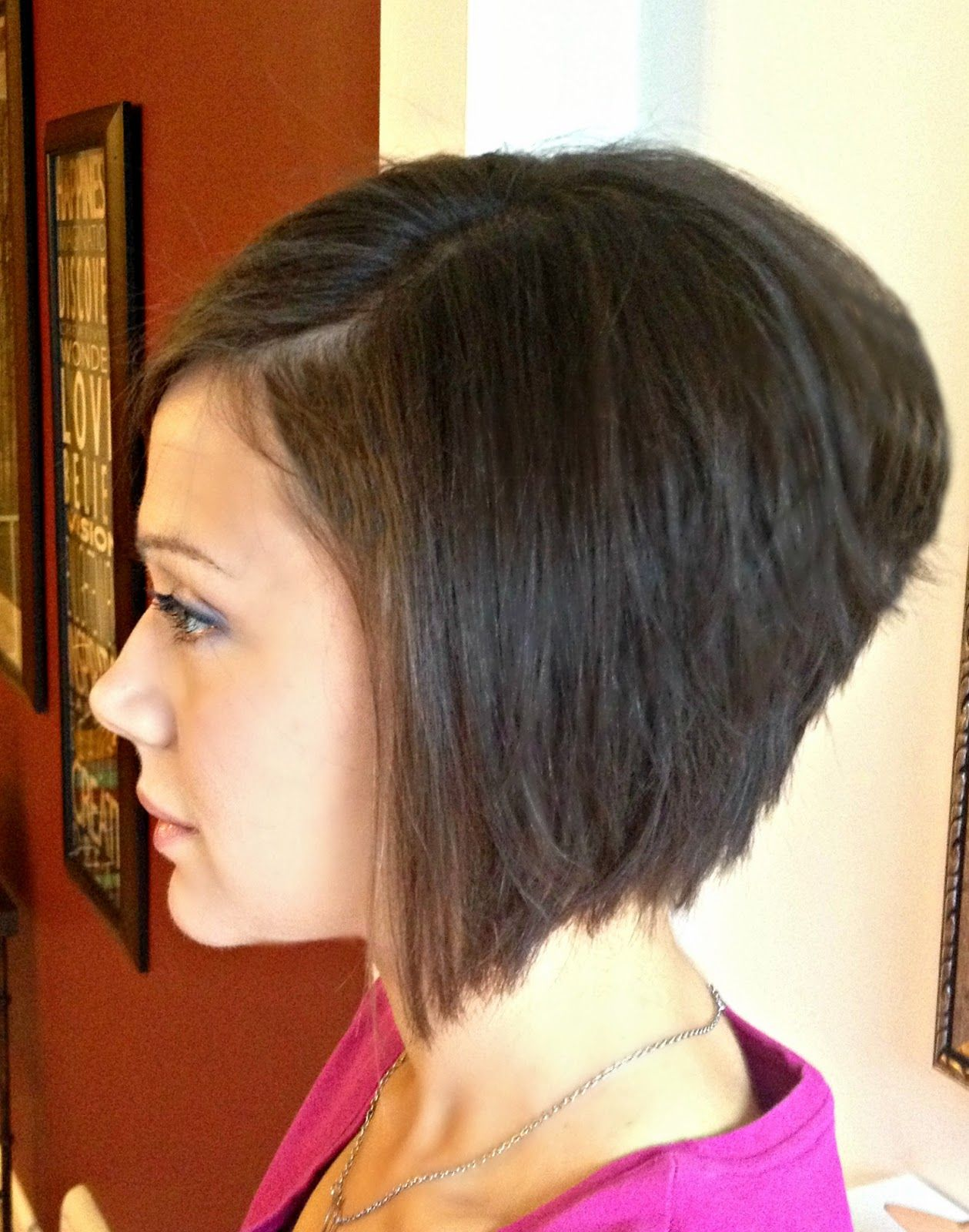 Fantastic A Line Stacked Boblt3Lt3Lt3Lt3 Haircuts N Styles Pinterest Hairstyles For Women Draintrainus