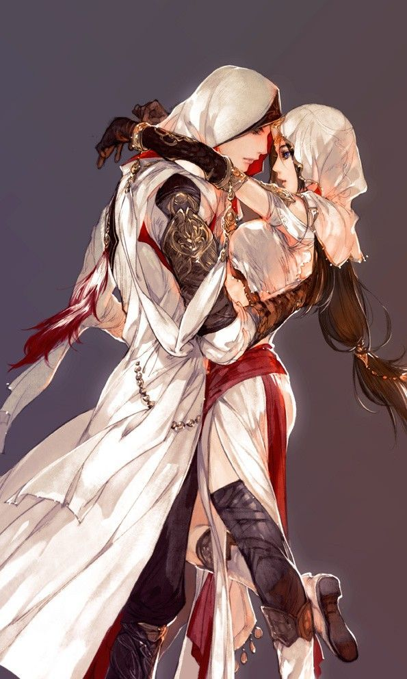 Assassins Creed Anime Art Anime Fantasy Couples