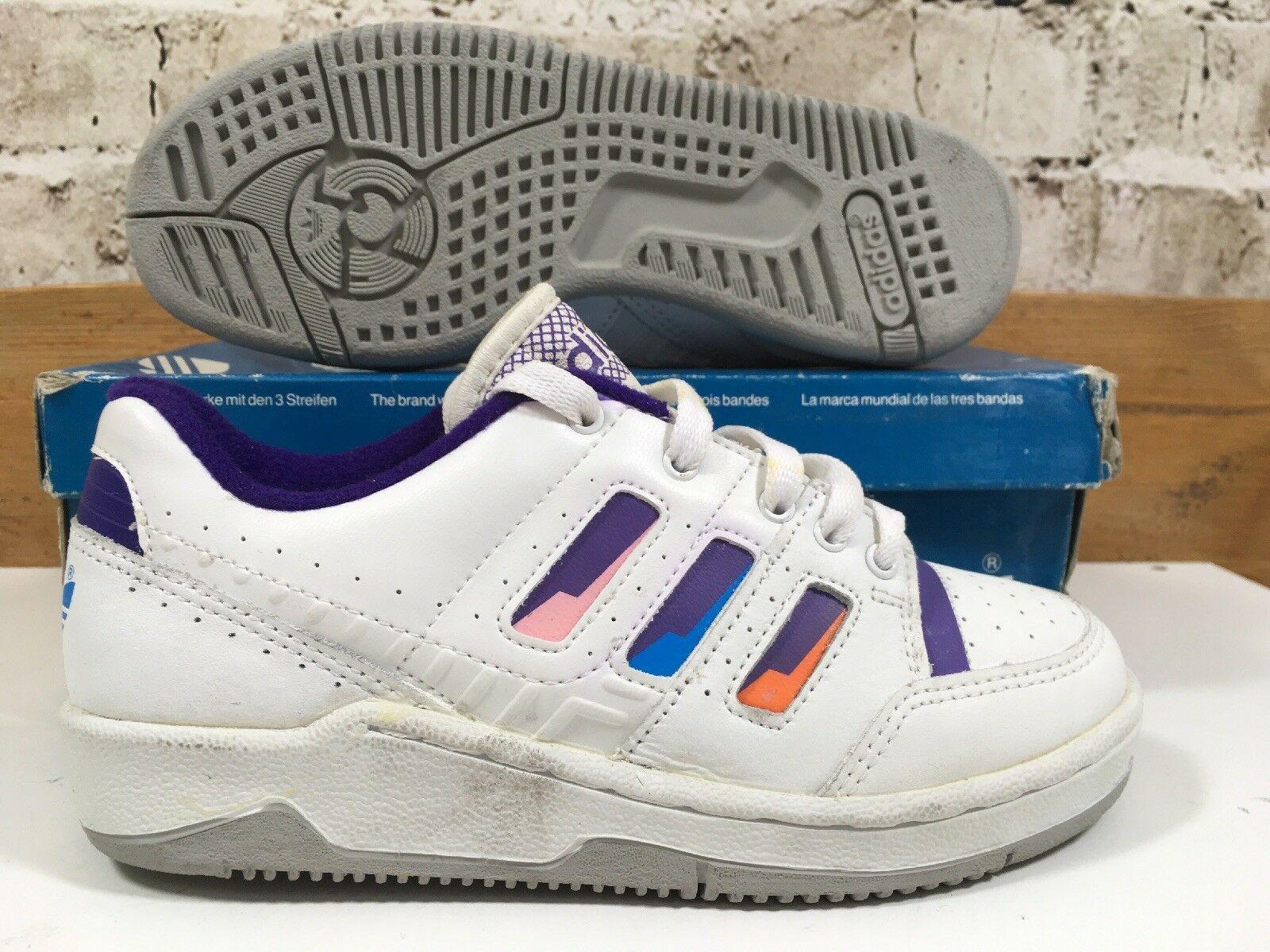 Vintage Eu Stefan Trainers Rare 34 Og Pro 1980 C Edberg 2 Uk Adidas eodCBx