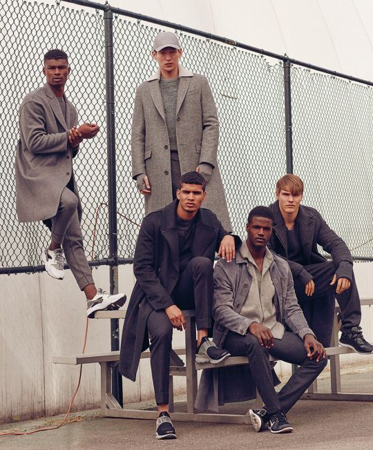 Birth Of A Supervillain Group Poses Mens Fashion Editorial Mens Editorial