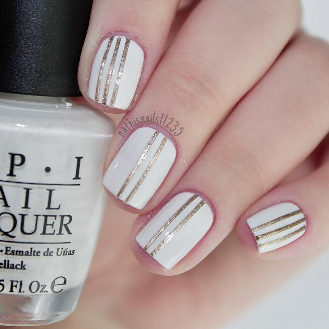 33 Pretty Manicure That You Can Easily Do Simple Nails Nail Polish Ideas Easy Nail Polish