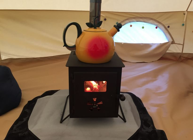 New Glow Wood Burning Stove Upgrade For Our Bell Tent & Glawning Glow Stove   Glamping   Pinterest   Stove and Camping