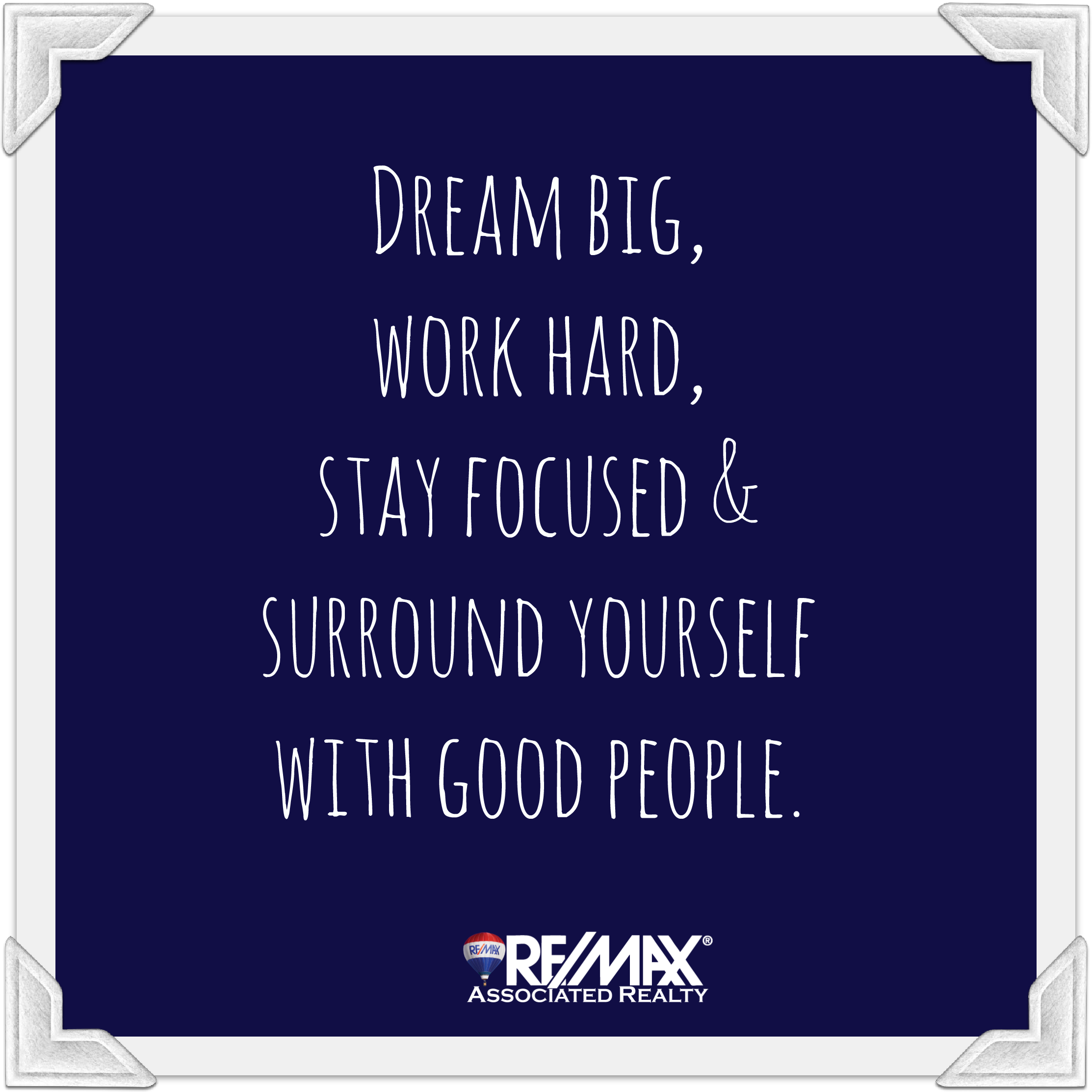 #dreambig #workharder