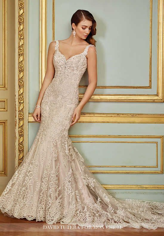 Superb David Tutera for Mon Cheri Ophira Wedding Dress photo