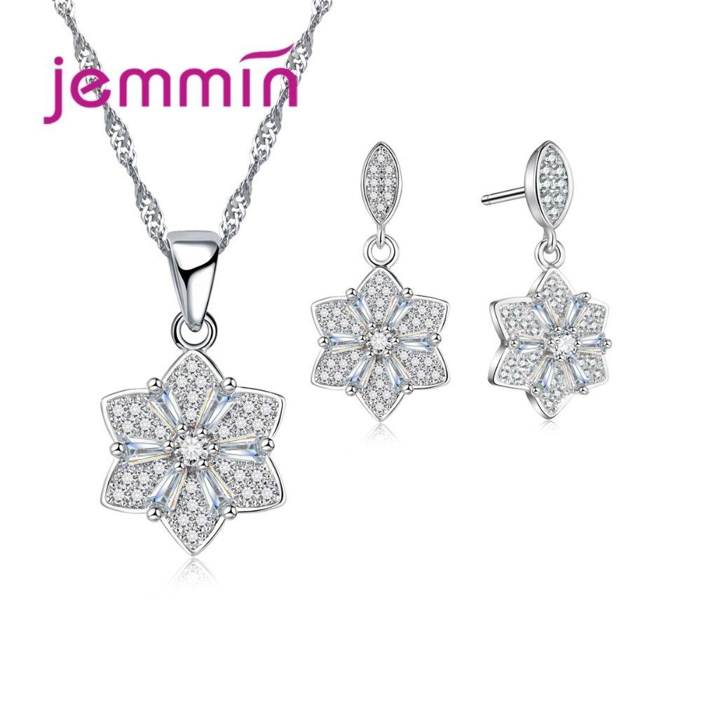 Jemmin women bridal jewelry sets with austrian crystal fine
