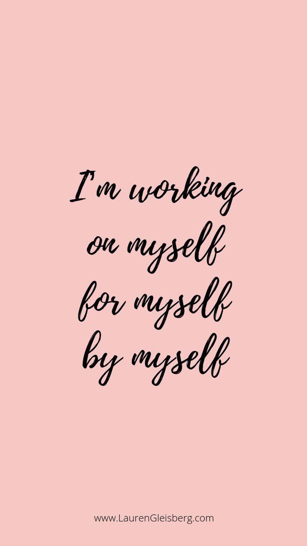 BEST MOTIVATIONAL & INSPIRATIONAL GYM / FITNESS-ZITATE - Ich arbeite selbst für mich #arbeite #fitne...